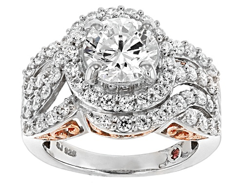 Photo of Michael O' Connor For Bella Luce ®Diamond Simulant Rhodium Over Sterling Silver & Eterno™ Ring - Size 12