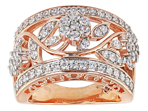 Photo of Michael O' Connor For Bella Luce®2.40ctw Diamond Simulant Eterno™ Rose Ring (1.34ctw Dew) - Size 7