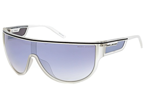 Photo of Marc Jacobs Mirrored Silver Shield Sport Sunglasses
