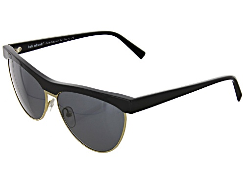 Photo of Bob Sdrunk-Lizzie-01 Black / Gold Grey Solid Sunglasses