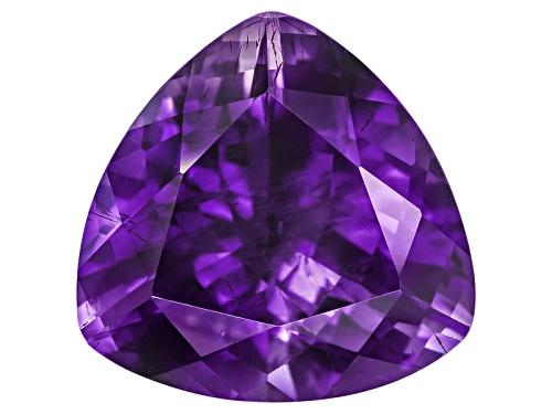 Moroccan Amethyst With Needles Avg 10.00ct 15x15mm Trillion