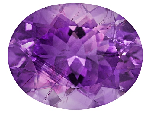 Photo of Moroccan amethyst with needles minimum 2.20ct 10X8mm oval