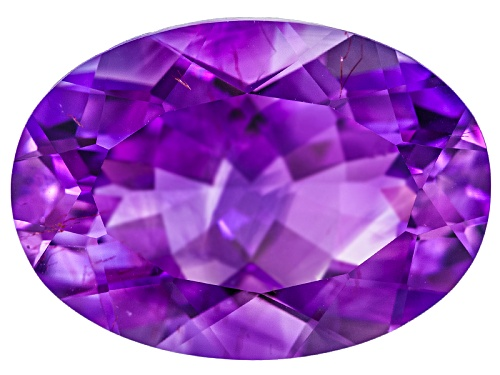 Photo of Moroccan amethyst with needles min 5.25ct 14X10mm oval