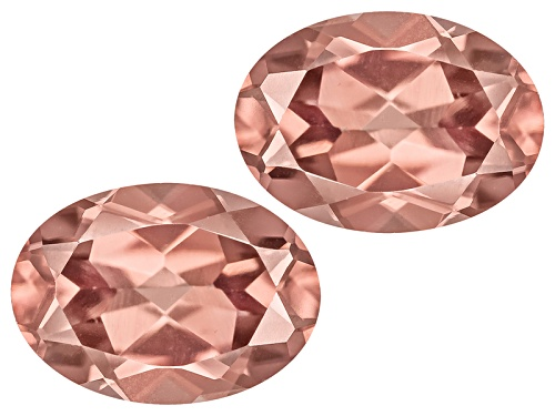 Photo of Prima Rosa Zircon™ Avg 2.00ctw 7x5mm Oval Matched Pair