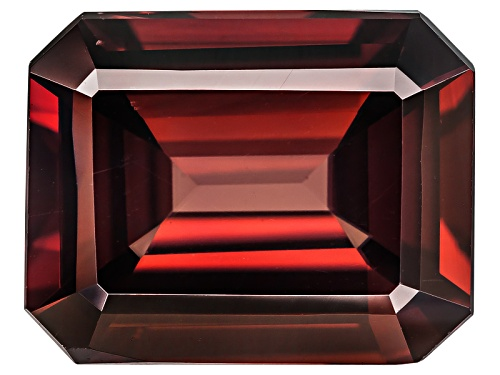 Photo of Tanzanian Red Zircon Min 5.50ct 11x9mm Emerald Cut