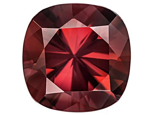 Photo of Tanzanian Red Zircon Min 2.25ct 7mm Square Cushion