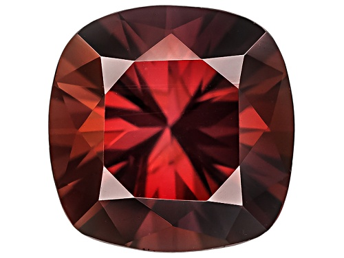 Photo of Tanzanian Red Zircon Min 1.25ct 6mm Square Cushion