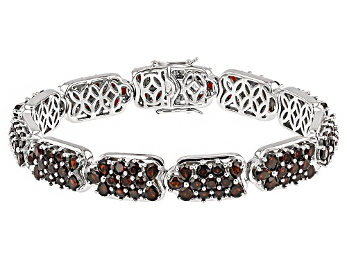 Photo of 17.72ctw Pear Shape And Round Vermelho Garnet™ Sterling Silver Bracelet - Size 8