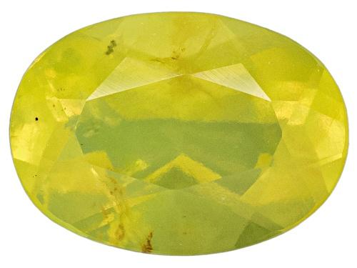 Photo of Mali green opal min 0.50ct 7x5mm oval