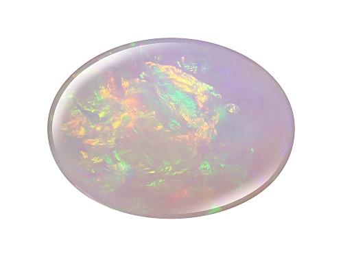 Photo of Ethiopian Opal min 7.00ct 18x13mm oval cabochon