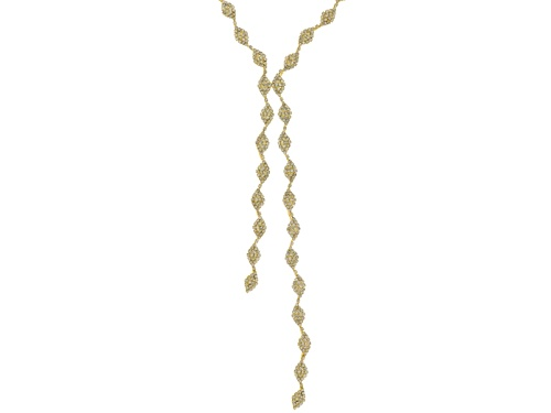 Photo of Off Park ® Collection White Crystal Gold Tone Necklace