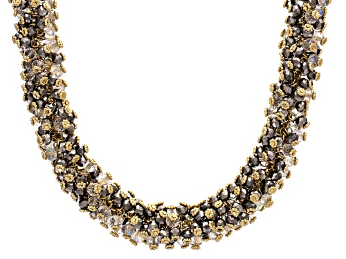 Photo of Off Park ® Collection Multicolor Crystal Gold Tone Statement Necklace