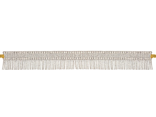 Photo of Off Park ® Collection White Crystal Rose Tone Large Statement Belt
