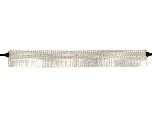 Photo of Off Park ® Collection White Crystal Gold Tone Large Statement Belt