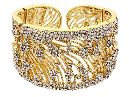 Photo of Off Park ® Collection White Crystal Gold Tone Bracelet