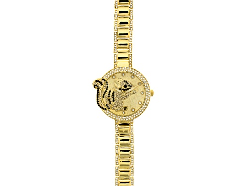 Photo of Off Park Collection ™ Multicolor Crystal Yellow Squirrel Watch