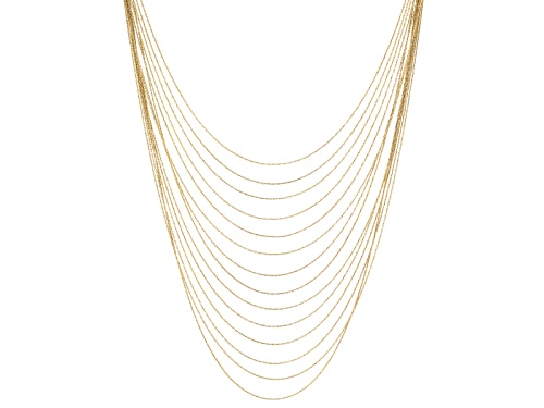 Off Park ® Collection Silver Tone Multi Strand Necklace