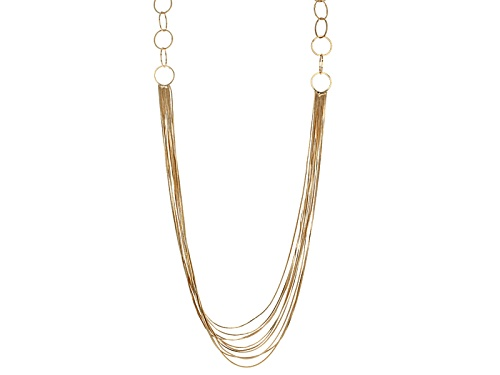 Photo of Off Park ® Collection Gold Tone Multi Chain Necklace