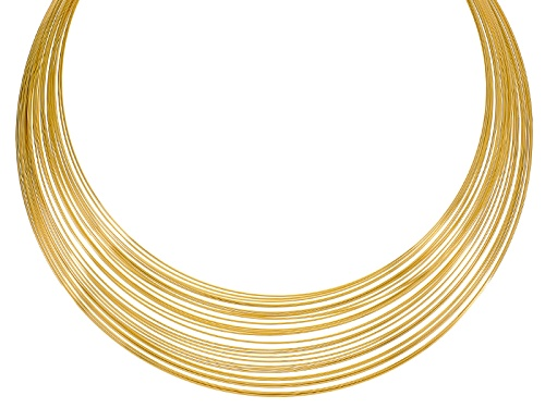 Photo of Off Park ® Collection Gold Tone Layered Collar Necklace