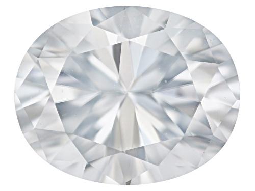 Photo of Moissanite diamond equivalent 2.40ct 10x8mm oval