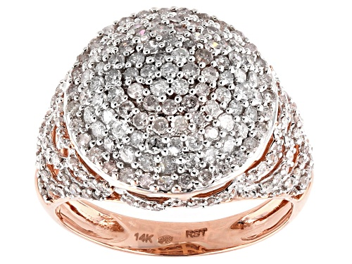 Photo of Park Avenue Collection® 1.50ctw Round White Diamond 14K Rose Gold Ring - Size 7