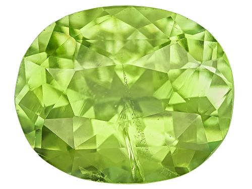 Photo of Pakistani kashmir peridot min 1.00ct mm varies oval
