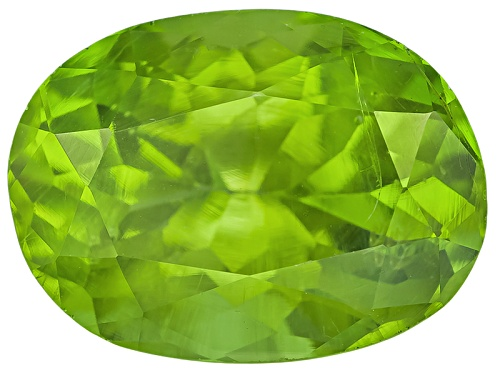 Photo of Pakistani Kashmir peridot min 3.50ct mm varies oval