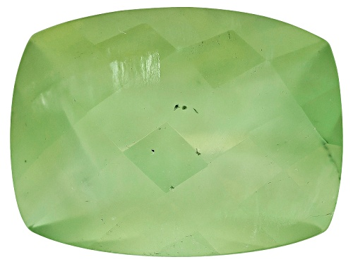 Photo of Mali Prehnite Avg 10.00ct 16x12mm Rectangular Cushion Checkerboard Cut