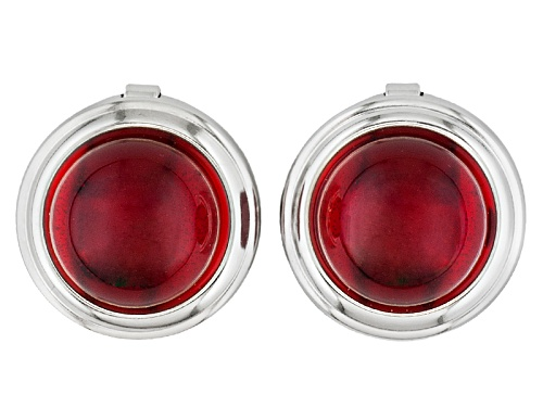 Photo of Pre-Owned  Red Amber Button Cover 12mm Round Set Of 2
