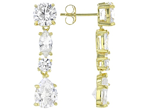 Photo of Pre-Owned Bella Luce ® 9.69ctw Eterno™ Yellow Earrings (6.66ctw DEW)