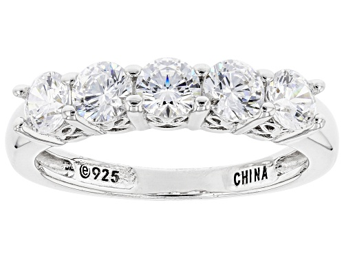 Photo of Pre-Owned Bella Luce Luxe™ 1.32ctw Featuring White Zirconia From Swarovksi® Platinum Over Sterling S - Size 7
