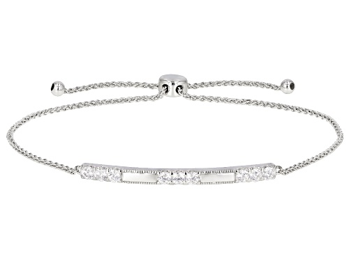 Photo of Pre-Owned Vanna K ™ For Bella Luce ® 0.97ctw Platineve  ® Adjustable Bracelet (0.54ctw DEW)
