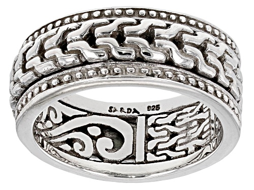 Photo of Pre-Owned Artisan Collection Of Bali™ Sterling Silver Band Ring - Size 8