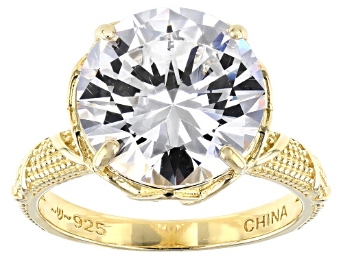 Photo of Pre-Owned Bella Luce ® 10.32ctw Eterno™ Yellow Ring (6.84ctw DEW) - Size 10