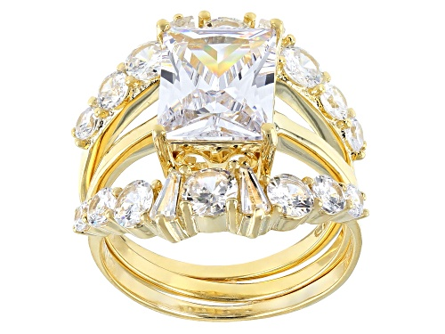 Photo of Pre-Owned Bella Luce ® 7.09ctw Eterno™ Yellow Ring With Bands (5.93ctw DEW) - Size 10