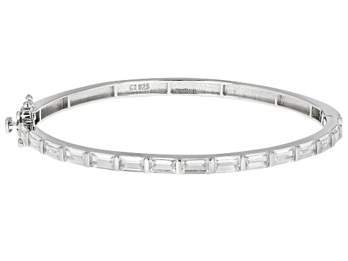 Photo of Pre-Owned Bella Luce ® 4.35ctw Rhodium Over Sterling Silver Bracelet - Size 7