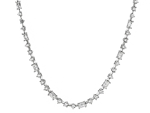 Photo of Pre-Owned Tycoon For Bella Luce ® 22.44ctw Platineve® Necklace (13.23ctw Dew) - Size 18