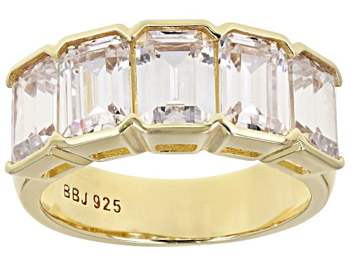 Photo of Pre-Owned Bella Luce ® 8.50ctw Eterno ™ Yellow Ring (5.30ctw DEW) - Size 12