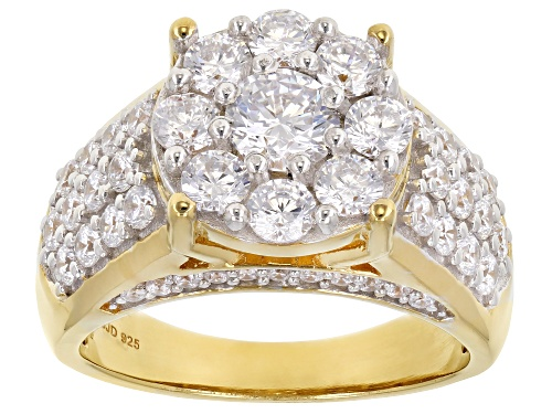 Photo of Pre-Owned Bella Luce ® 4.03ctw Eterno™ Yellow Ring (2.20ctw DEW) - Size 8