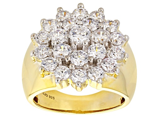 Photo of Pre-Owned Bella Luce® 5.31ctw Eterno™ Yellow Ring (1.96ctw DEW) - Size 9