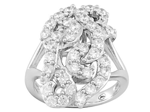Photo of Pre-Owned Bella Luce® 2.66ctw Rhodium Plated Sterling Silver Ring - Size 5