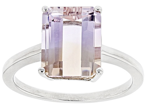 Photo of Pre-Owned Ametrine Solitaire Ring Sterling Silver - Size 8