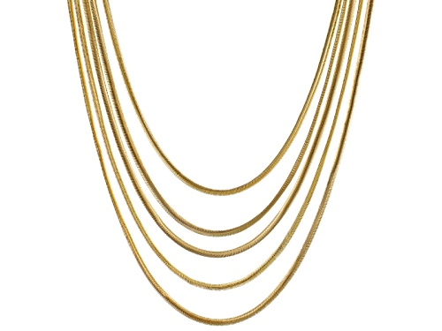 Photo of Pre-Owned Off Park ® Collection Gold Tone Multi-Strand Necklace