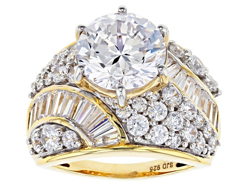 Photo of Pre-Owned Bella Luce ® 11.68CTW White Diamond Simulant Eterno ™ Yellow Ring - Size 6