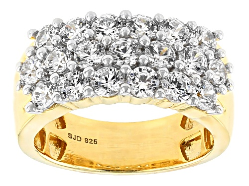 Photo of Pre-Owned Bella Luce Luxe ™ 3.94CTW Featuring Zirconia From Swarovski ® Eterno ™ Yellow Ring - Size 6