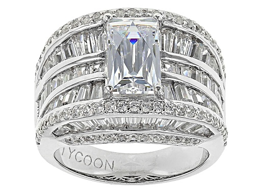 Photo of Pre-Owned Tycoon For Bella Luce ® 9.81ctw Platineve® Ring (7.44ctw Dew) - Size 10