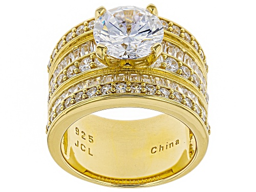Photo of Pre-Owned Bella Luce® 6.93ctw Eterno™ Yellow Ring - Size 5