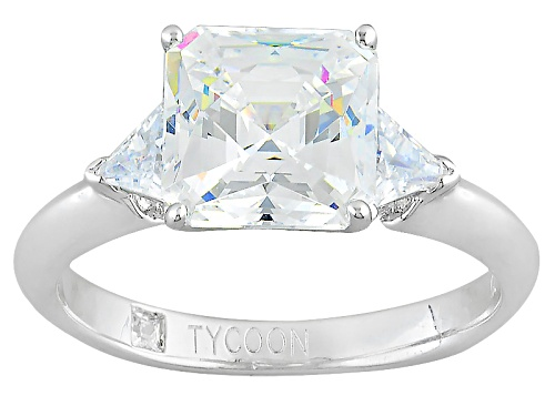 Photo of Pre-Owned Tycoon For Bella Luce ® 5.18ctw Platineve ™ Ring (2.54ctw Dew) - Size 9
