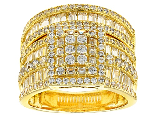 Photo of Pre-Owned Bella Luce ® 4.32ctw Eterno ™ Yellow Ring With Band (2.82ctw Dew) - Size 6
