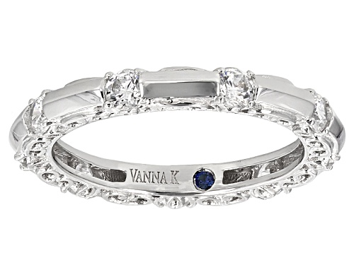 Photo of Pre-Owned Vanna K ™ For Bella Luce ® 1.56ctw Platineve ™ Ring - Size 9